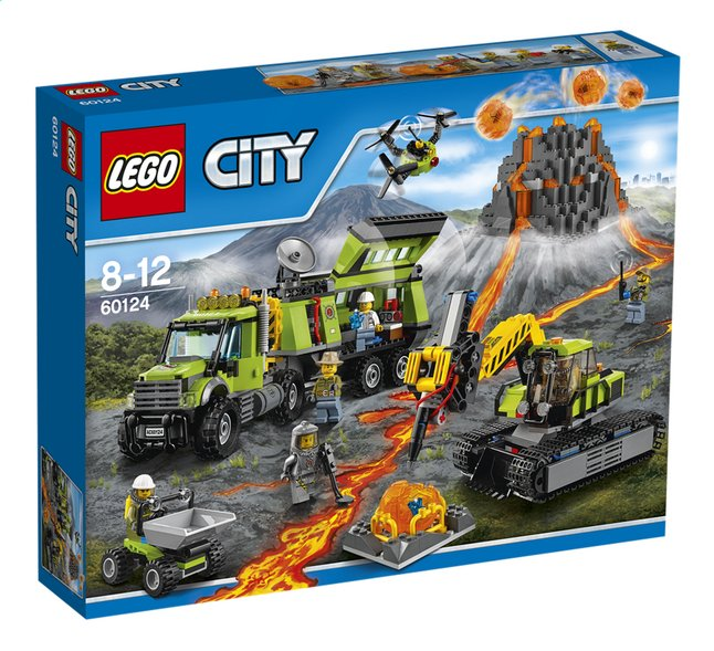 Image pour LEGO City 60124 La base d'exploration du volcan à partir de ColliShop