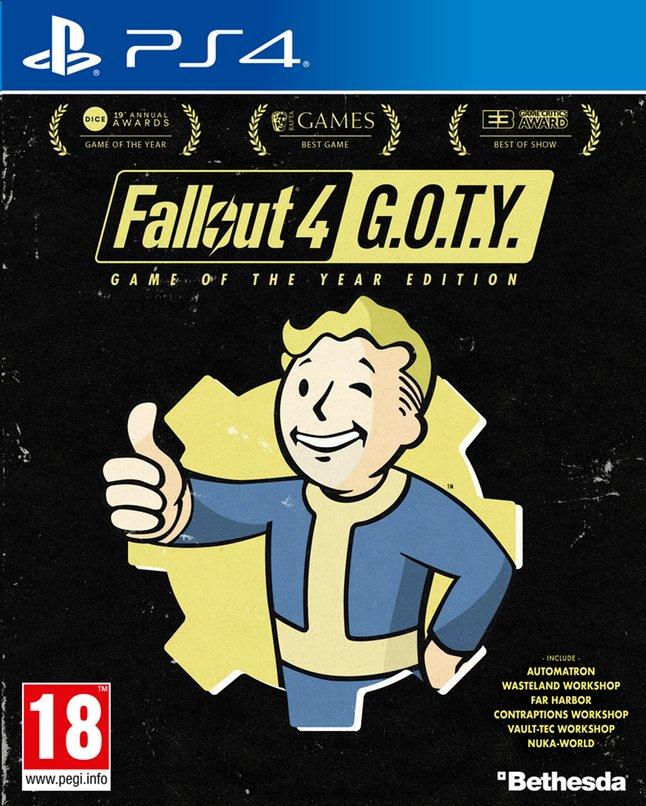 Image pour PS4 Fallout 4 G.O.T.Y. FR/ANG à partir de ColliShop