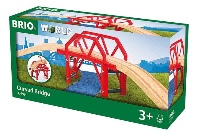Image pour BRIO World 33699 Pont courbe à partir de ColliShop