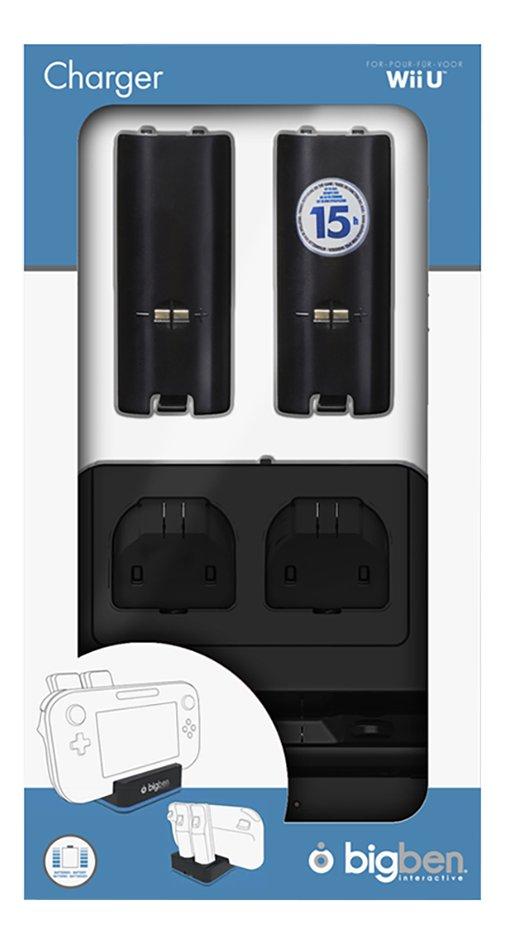 Image pour Bigben station de recharge Dual Charger Wii U à partir de ColliShop