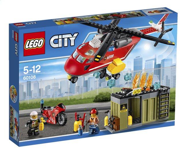 Image pour LEGO City 60108 L'unité de secours des pompiers à partir de ColliShop