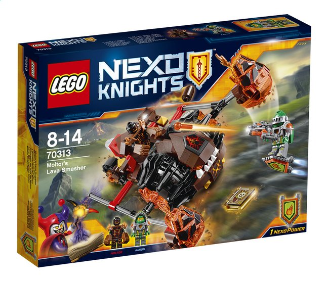 Afbeelding van LEGO Nexo Knights 70313 Moltor's Lavabeuker from ColliShop