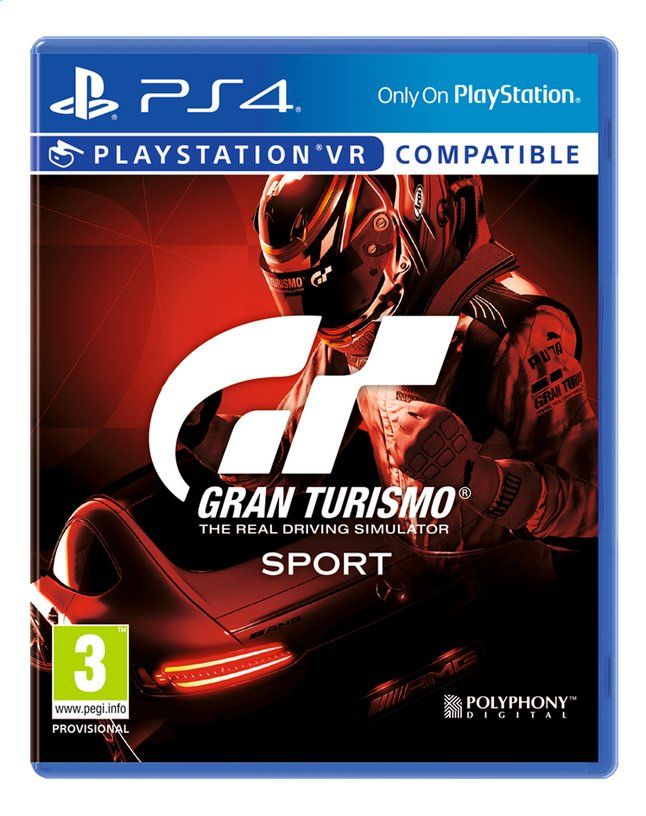 Afbeelding van PS4 Gran Turismo Sport  ENG/FR from ColliShop