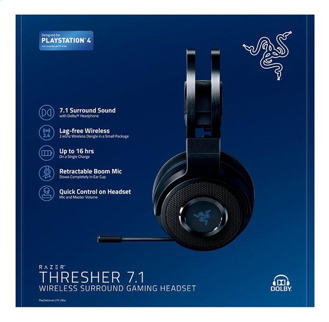 Image pour Razer casque-micro PS4 Thresher 7.1 Wireless noir à partir de ColliShop