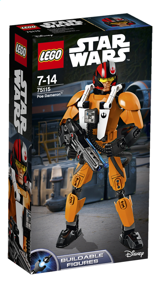 Image pour LEGO Star Wars 75115 Poe Dameron à partir de ColliShop