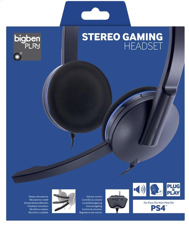 Afbeelding van Bigben stereo headset voor PS4 zwart from ColliShop