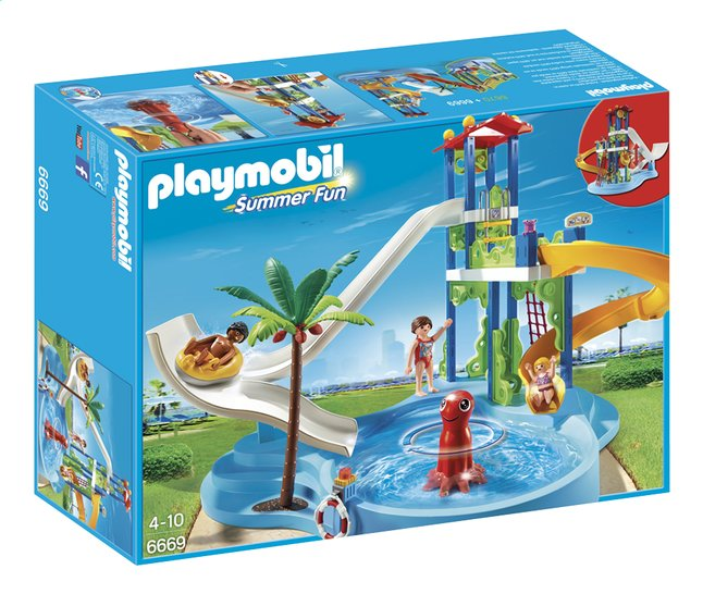 Afbeelding van Playmobil Summer Fun 6669 Waterspeeltuin from ColliShop