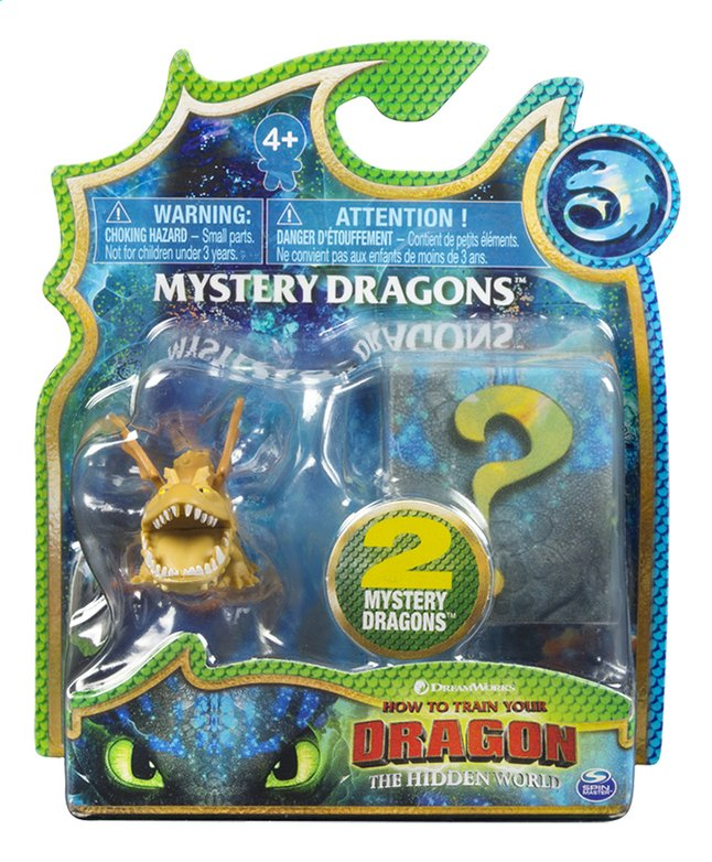 Afbeelding van Figuur How to Train Your Dragon 3 Mystery Dragons - Meatlug from ColliShop