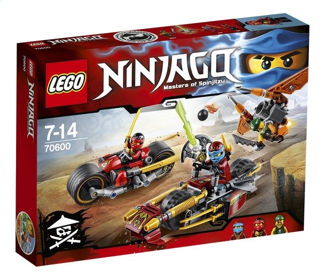 Image pour LEGO Ninjago 70600 Ninja La poursuite en moto des Ninja à partir de ColliShop