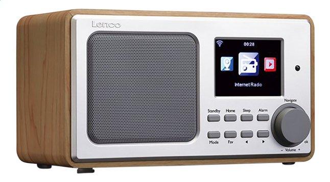 Image pour Lenco radio Internet DIR-100 Wood Brown à partir de ColliShop
