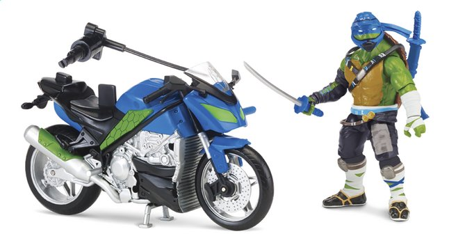 Afbeelding van Speelset Teenage Mutant Ninja Turtles: Out of the Shadows moto en Leo from ColliShop
