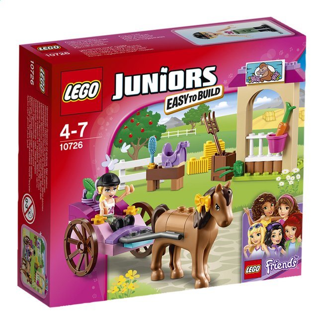 Afbeelding van LEGO Juniors 10726 Stephanies koets from ColliShop