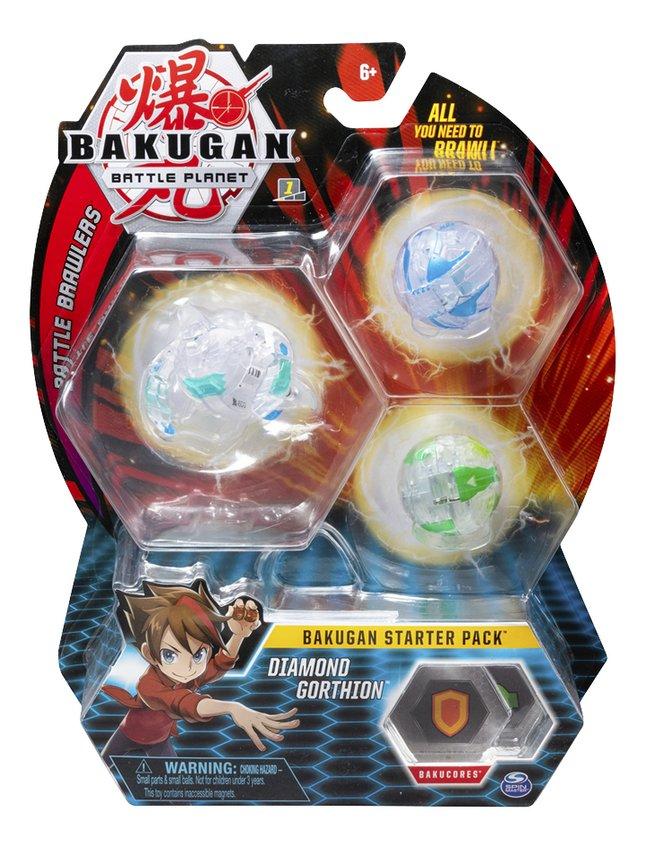 Bakugan Starter Pack 3 pièces - Diamond Gorthion