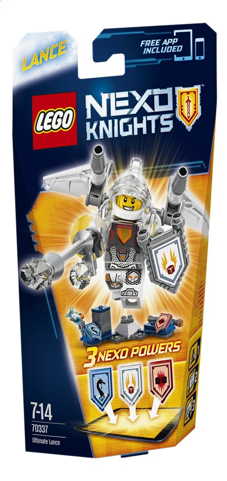 Afbeelding van LEGO Nexo Knights 70337 Ultimate Lance from ColliShop