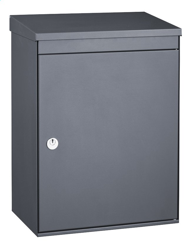 bo te aux lettres cube 500 anthracite collishop. Black Bedroom Furniture Sets. Home Design Ideas