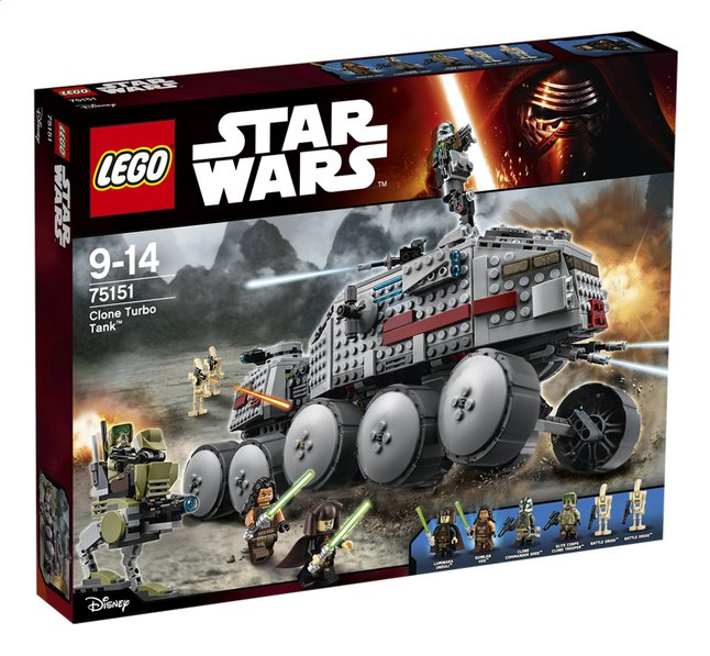 Afbeelding van LEGO Star Wars 75151 Clone Turbo Tank from ColliShop