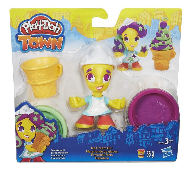 Afbeelding van Play-Doh Town Ice Cream Girl from ColliShop