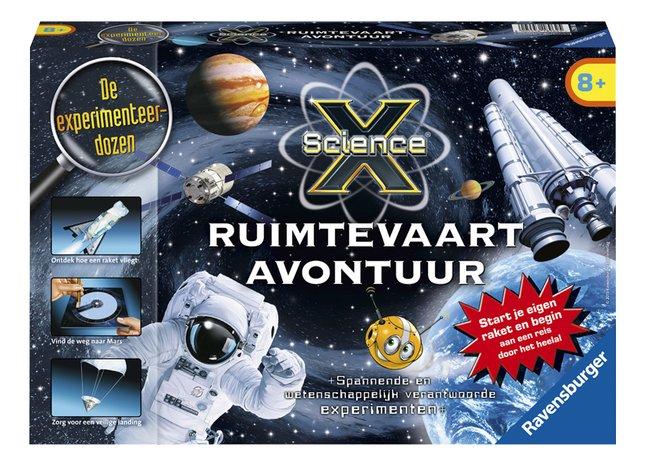 Afbeelding van Ravensburger Science X: Ruimtevaart avontuur NL from ColliShop