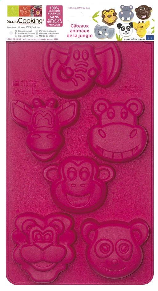 Image pour Scrap Cooking moule à pâtisserie animaux de la jungle à partir de ColliShop