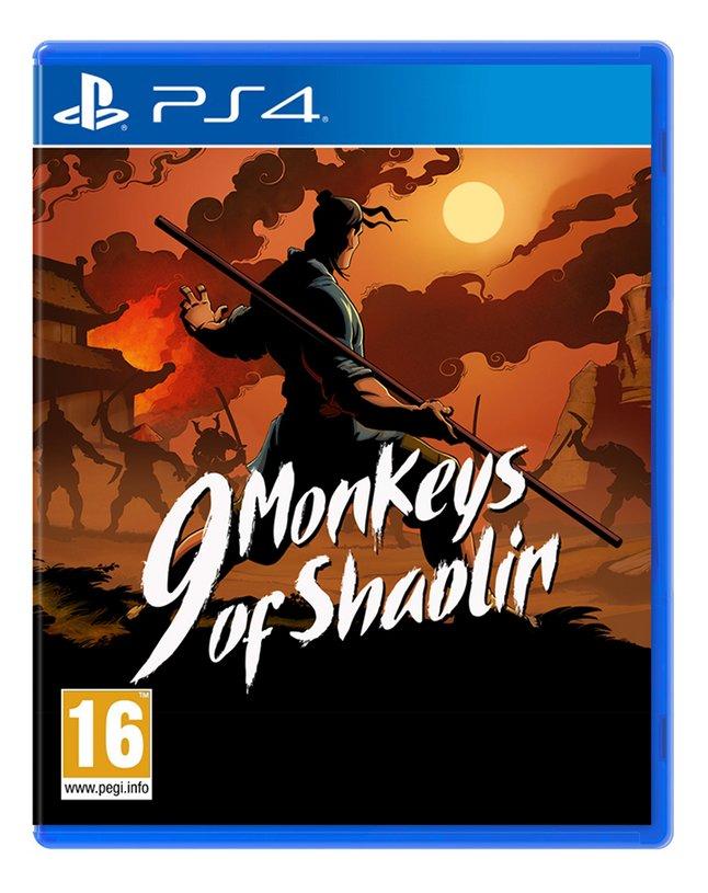 Image pour PS4 9 Monkeys of Shaolin FR/ANG à partir de ColliShop