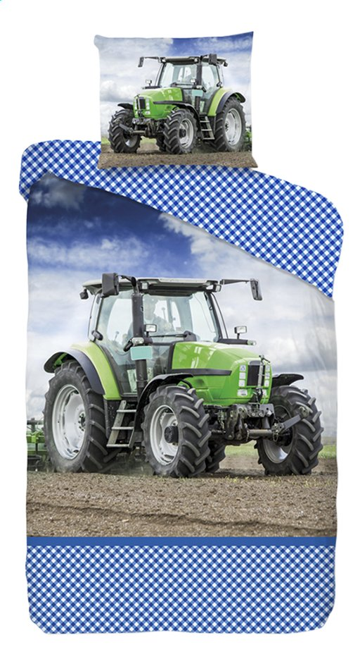 Image pour Good Morning Housse de couette Tractor strong coton Lg 140 x L 220 cm à partir de ColliShop