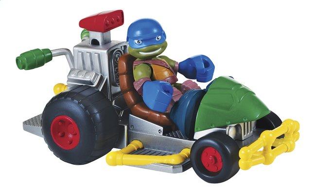 Image pour Set de jeu Les Tortues Ninja Half Shell Heroes Patrol Buggy with Racer Leo à partir de ColliShop