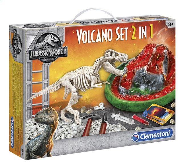 Afbeelding van Clementoni Jurassic World - Fallen Kingdom Volcano set 2-in-1 from ColliShop