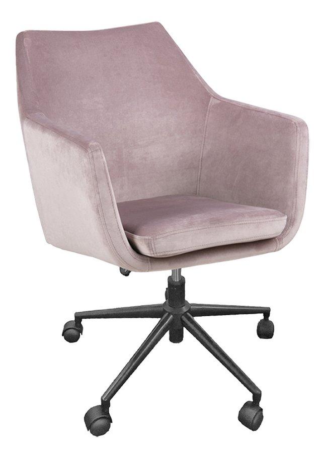 Image pour Chaise de bureau Nora rose à partir de ColliShop