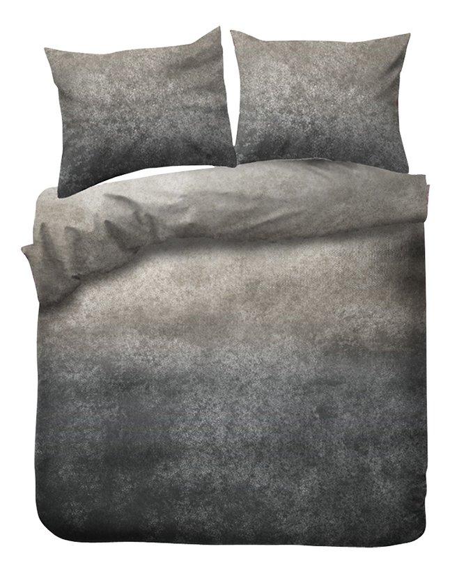 Kayori Dekbedovertrek Gassho flanel grey 140 x 220 cm