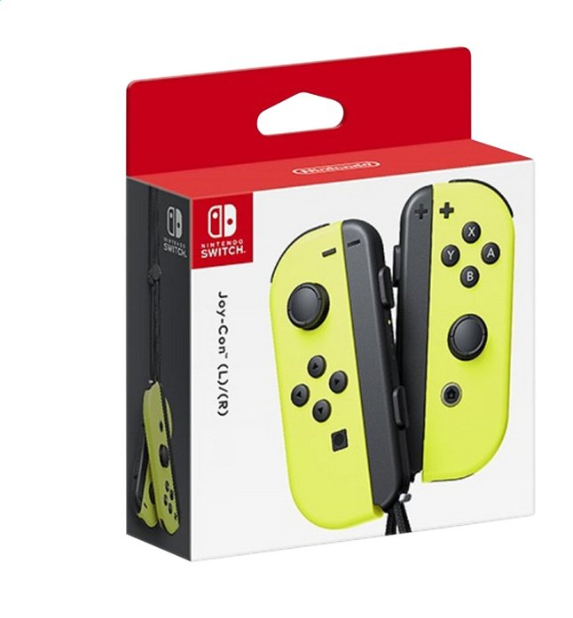 Nintendo Switch Joy-Con pair geel
