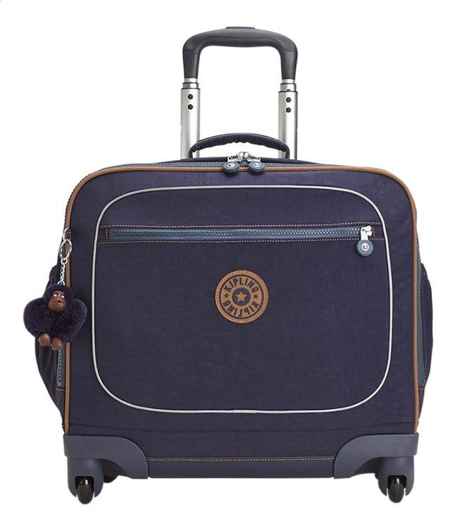 3279c81e5fd Afbeelding van Kipling trolley-boekentas Manary Blue Tan Block 42 cm from  ColliShop