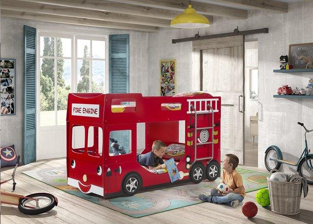 Afbeelding van Stapelbed brandweerwagen from ColliShop
