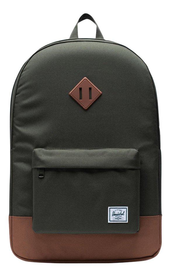 Herschel sac à dos Heritage Dark Olive/Saddle Brown