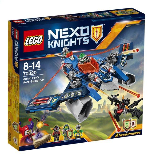 Image pour LEGO Nexo Knights 70320 L'Aero Striker V2 d'Aaron Fox à partir de ColliShop