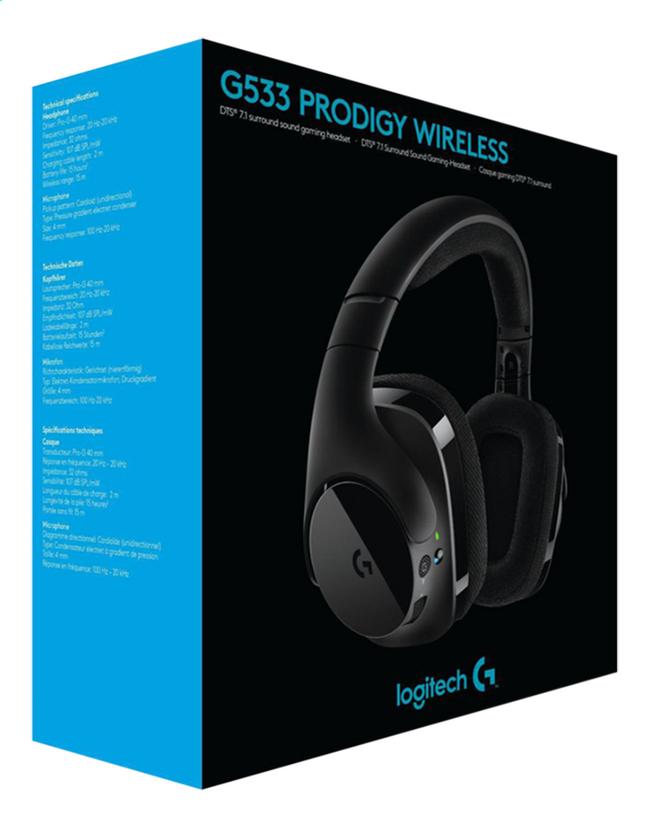 Logitech casque-micro G533 Wireless
