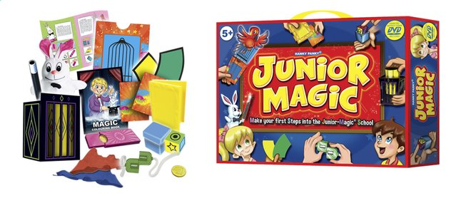 Image pour Boîte de magie Junior Magic à partir de ColliShop