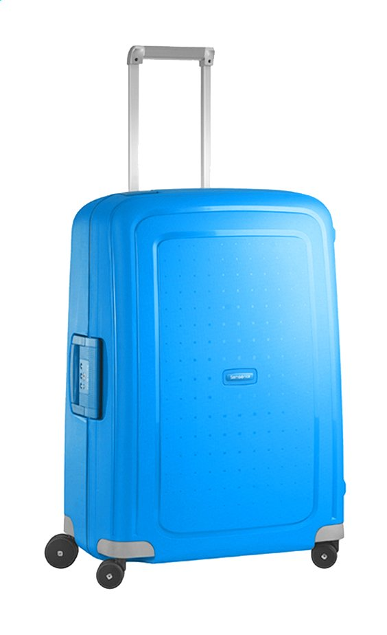 Afbeelding van Samsonite Harde reistrolley S'Cure Spinner pacific blue 69 cm from ColliShop