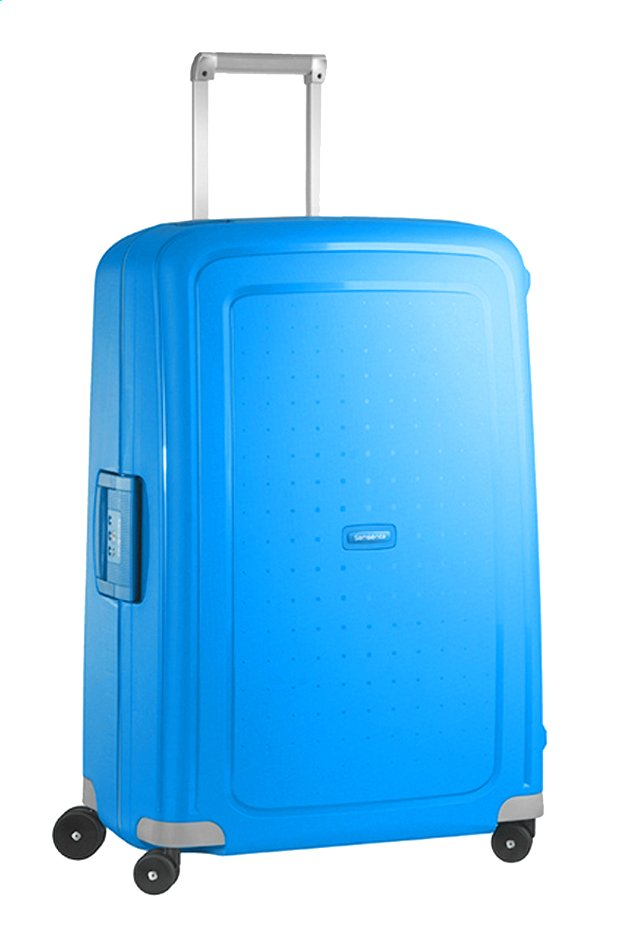 Afbeelding van Samsonite Harde reistrolley S'Cure Spinner pacific blue 75 cm from ColliShop