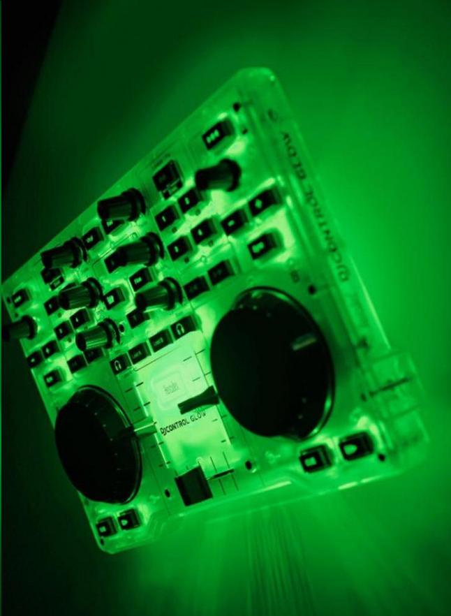 Afbeelding van Hercules dj-controller DJControl Glow from ColliShop