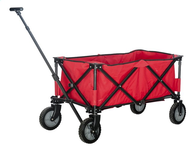 Image pour Campman Chariot pliant rouge à partir de ColliShop