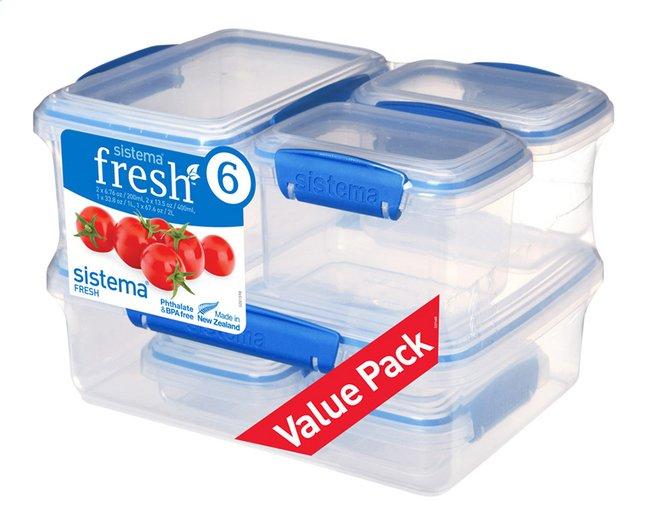Image pour Sistema 6 boîtes de conservation Fresh à partir de ColliShop