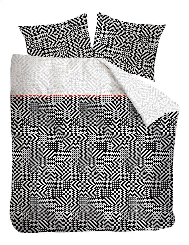 Beddinghouse housse de couette kumiko coton collishop - Housse de couette all black ...