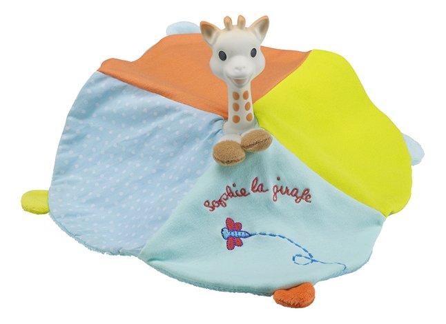 Sophie la girafe anneau de dentition & doudou Caoutchou'doux
