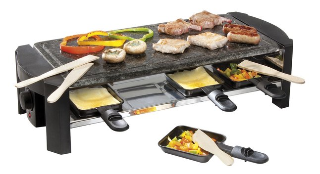 Afbeelding van Domo raclette-steengrill en gourmet DO9039G from ColliShop