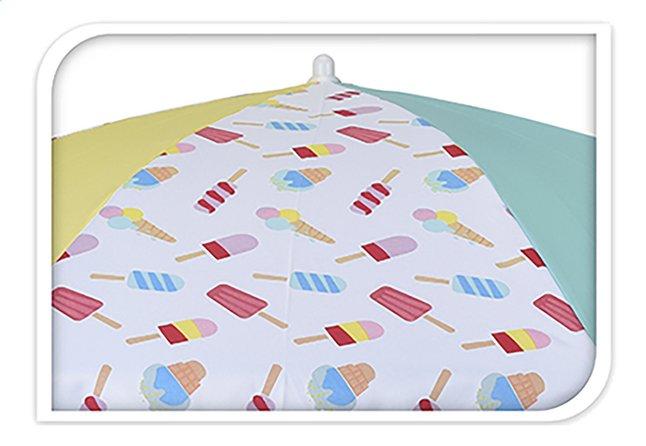 Image pour Parasol de plage Ø 176 cm glaces jaune à partir de ColliShop