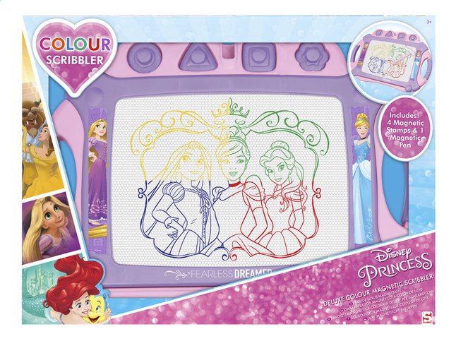 Afbeelding van Magische lei Disney Princess Deluxe Colour Magnetic Scribbler from ColliShop