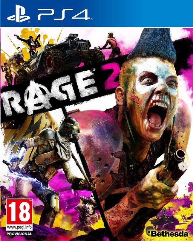 Afbeelding van PS4 Rage 2 NL/FR from ColliShop