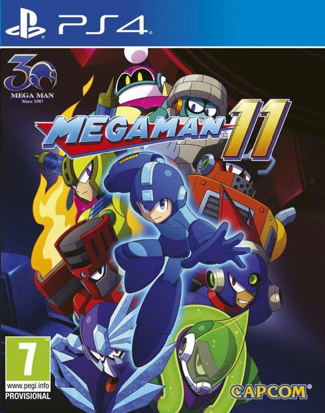 Afbeelding van PS4 Mega Man 11 NL/FR from ColliShop