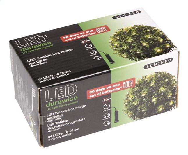 Ledverlichting voor buxus 84 lampjes warm wit | ColliShop