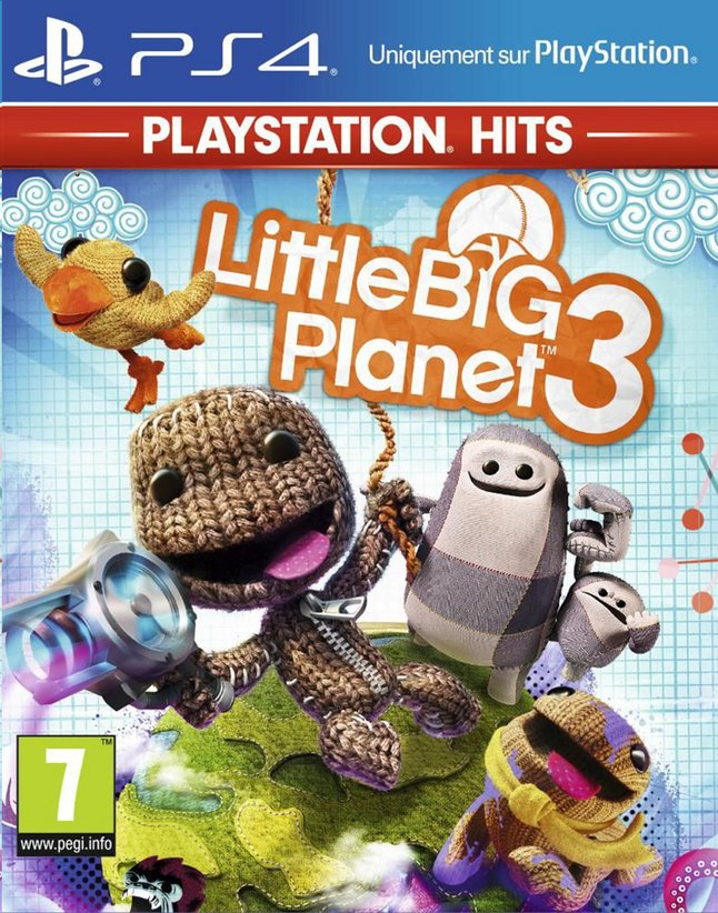 PS4 Little Big Planet 3 Playstation Hits ENG/FR